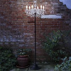 Drylight LED Outdoor Tall Floor Lamp