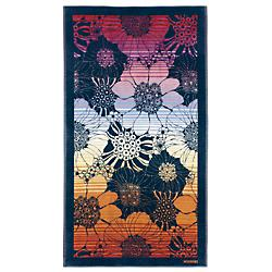 Stefanie 159 Beach Towel(Black/Multicolor) - OPEN BOX RETURN