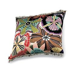 Passiflora Coral Pillow 16x16