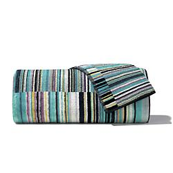Jazz Blue Bath Towel 5 Piece Set