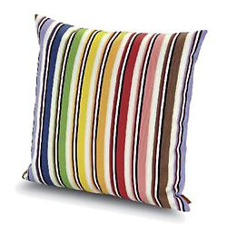 Rainbow Outdoor Pillow 16x16, Multicolor
