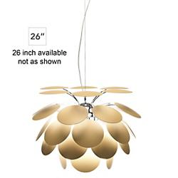 Discoco Pendant (Matte Beige/26 inch) - OPEN BOX RETURN