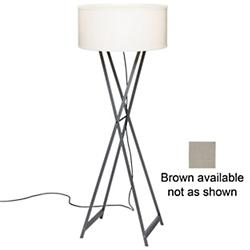 Cala Outdoor Floor Lamp (Grey) - OPEN BOX RETURN