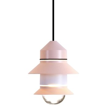 Shown in Pale Pink finish