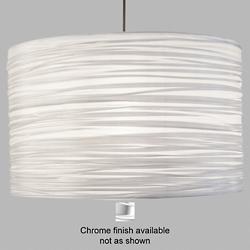 Silence Pendant Light (Silver/Chrome/18 In) - OPEN BOX
