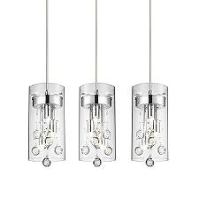 Encased Linear Multi-Light Pendant