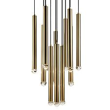 Reign LED Multi-Light Pendant Light