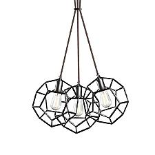 Geometry Multi-Light Pendant