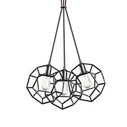 Geometry Multi-Light Pendant