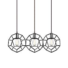 Geometry Linear Multi-Light Pendant