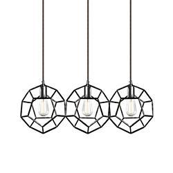 Geometry Linear Multi-Light Pendant