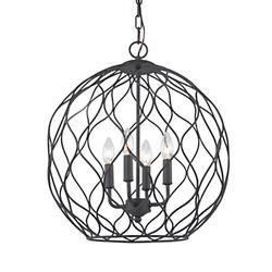 Parisian 4-Light Pendant