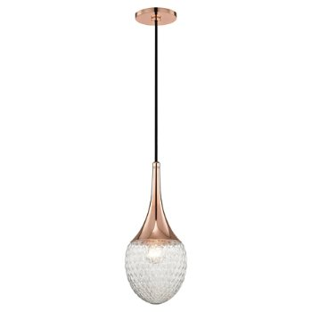 Shown in Polished Copper finish, Small size