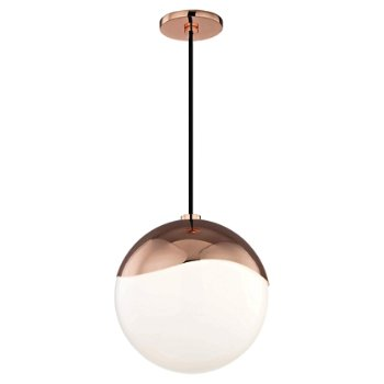 Shown in Polished Copper finish, Large size