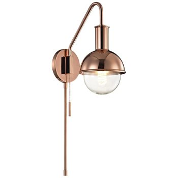 Shown in Polished Copper finish