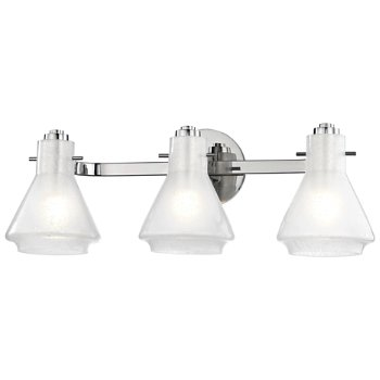Shown in Polished Nickel finish, 3-Light