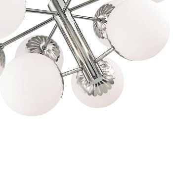 Shown in Polished Nickel finish, Detail view