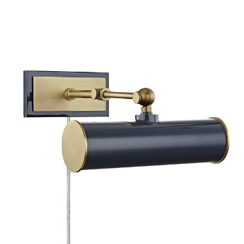Shown in Aged Brass/Navy finish, 8.25-In. Width