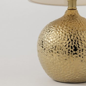 Shown in Gold finish, Detail view