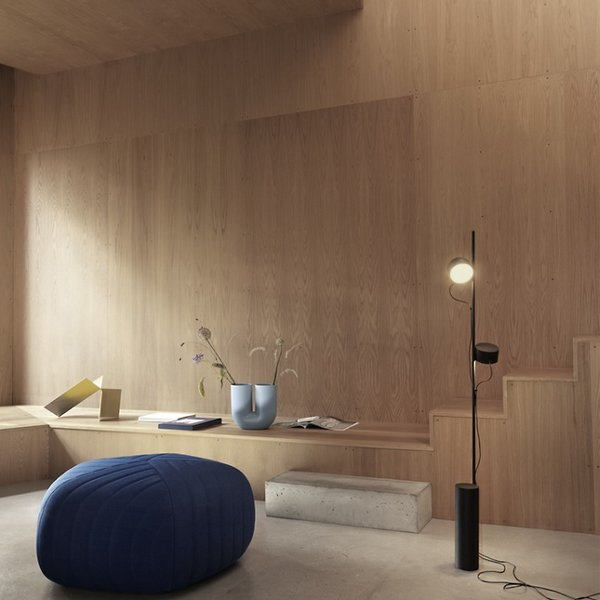 Post LED Floor Lamp