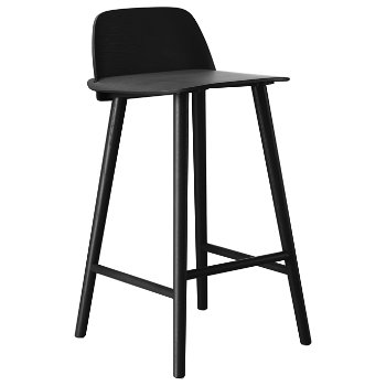 Shown in Black, Counter/25.5-Inch