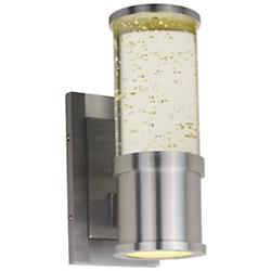 Pillar Outdoor LED Wall Sconce
