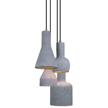 Crete LED Multi Light Pendant