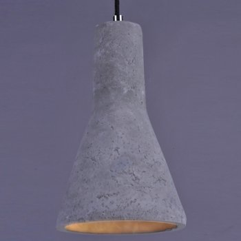 Crete LED Cone Mini Pendant, lit
