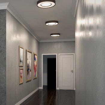 Splendor LED Round Flushmount, in use