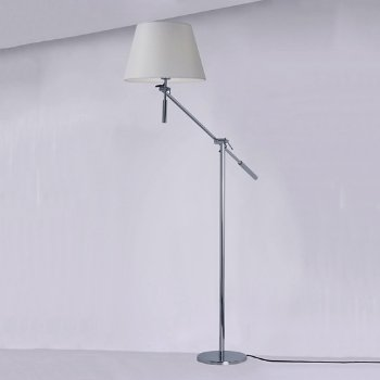 Hotel LED Boom Floor Lamp, in use