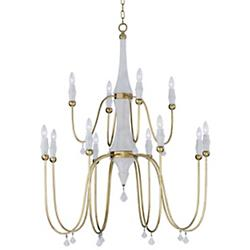 Claymore 2-Tier Chandelier