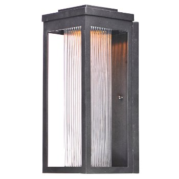 Shown in Clear Ribbed Glass shade, 15 inch
