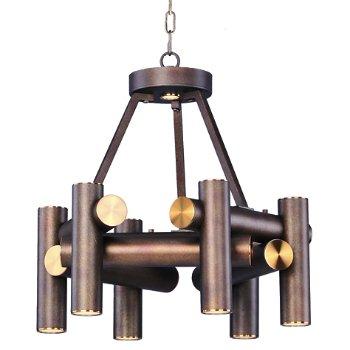 Tubular 7-Light LED Chandelier