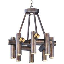 Tubular 9-Light LED Chandelier