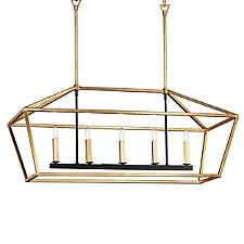 Abode Linear Chandelier Light