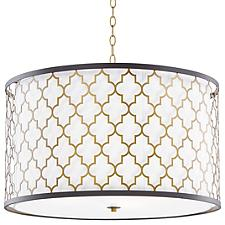 Crest Drum Pendant Light