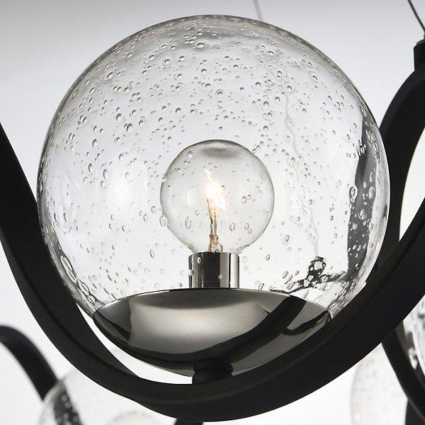 Curlicue 8-Light Chandelier