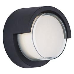 Eyebrow Round LED Outdoor Wall Sconce