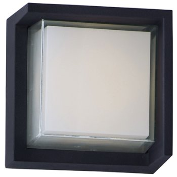 Eyebrow Square LED Outdoor Wall Sconce