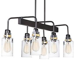 Magnolia 6-Light Linear Suspension