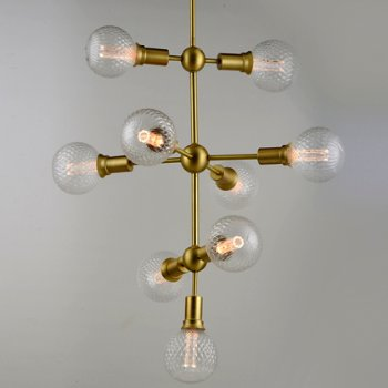 Shown in Classic Pattern LED G40 with Satin Brass finish