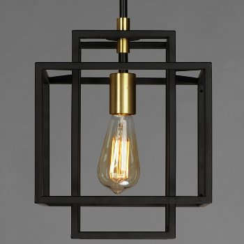 Shown in Black and Satin Brass finish, Small size, in use