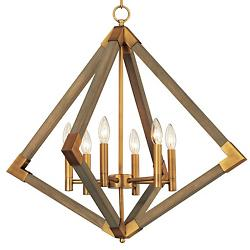 Vector 6 Light Pendant