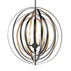 Radial Round Chandelier