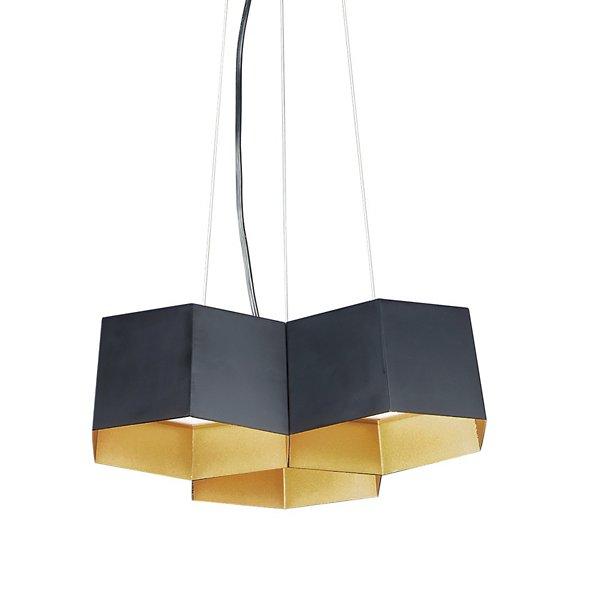 Honeycomb LED Multi-Light Pendant