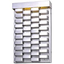 Weave LED Tall Wall Sconce