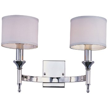 Shown in Polished Nickel finish, lit