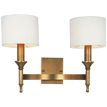 Shown in Natural Aged Brass finish, unlit