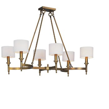 Fairmont 6-Light Linear Chandelier
