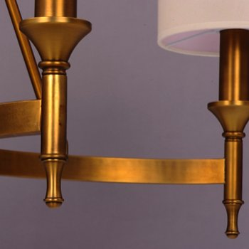 Shown in Natural Aged Brass finish